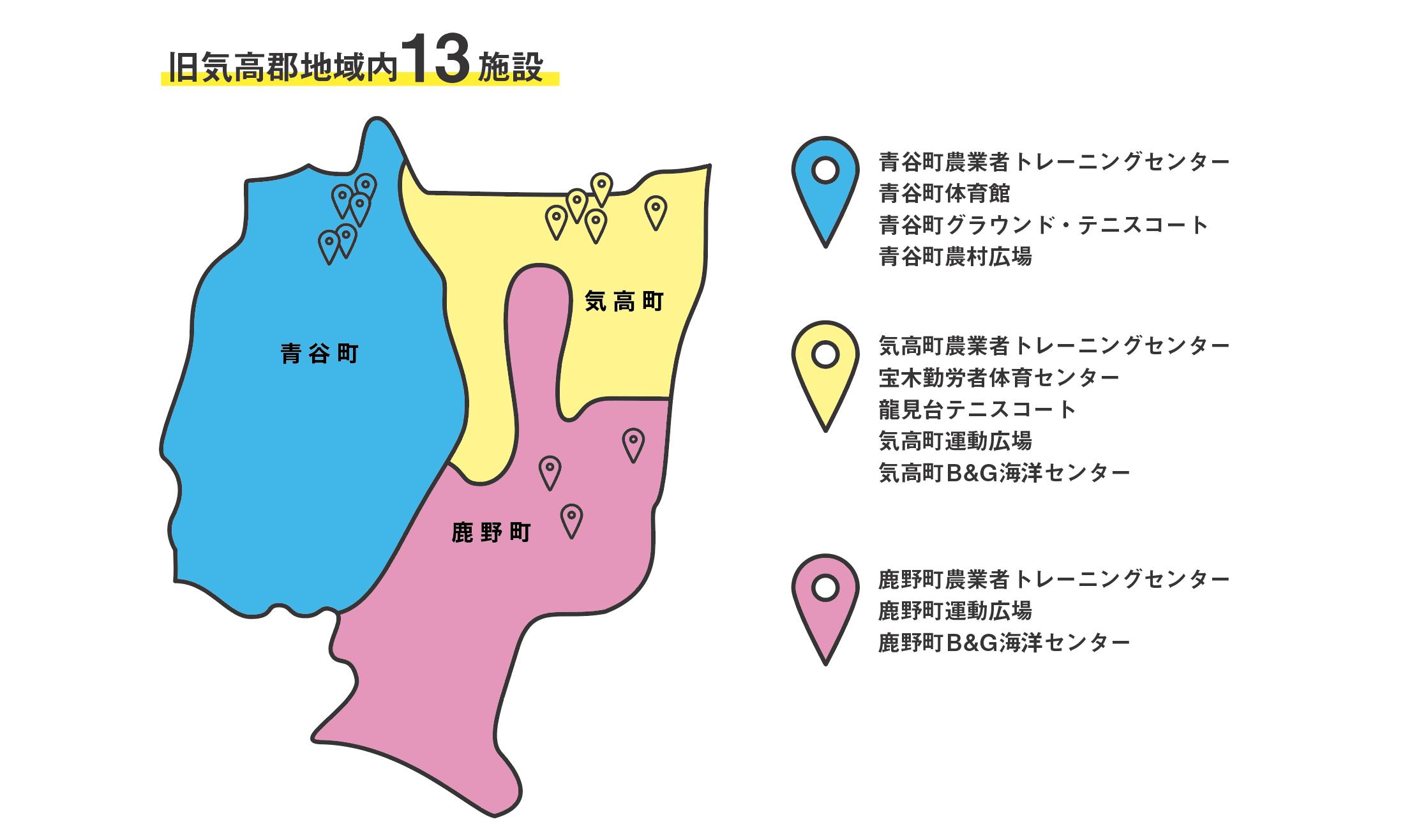 管理施設マップ
