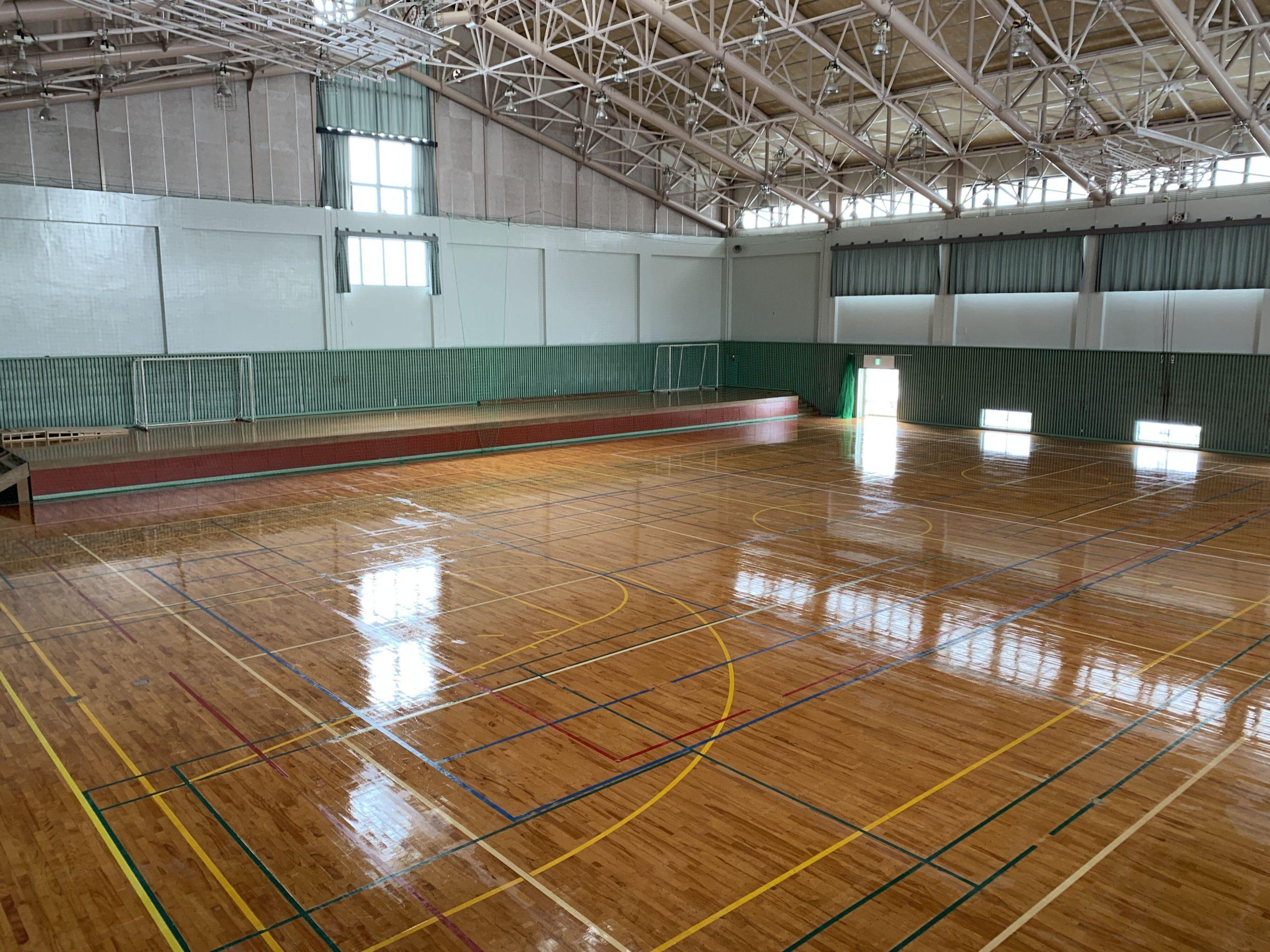 体育館AFTER